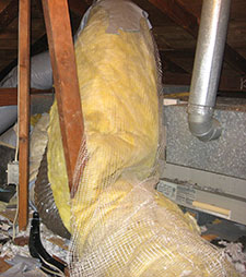 heater repair furnace repair central gas furnace repair. Crushed air conditioner air ducts can cause the air conditioner compressor to fail