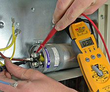 heater repair furnace repair central gas furnace repair. Testing the air conditioning capacitors is a simple task